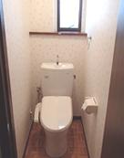 トイレ壁紙例