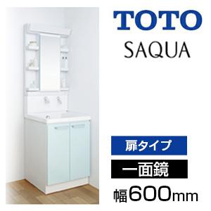 TOTO 洗面化粧台サクア1面鏡・幅600mm