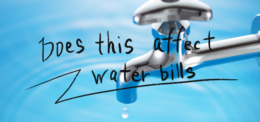 Does this affect water bills